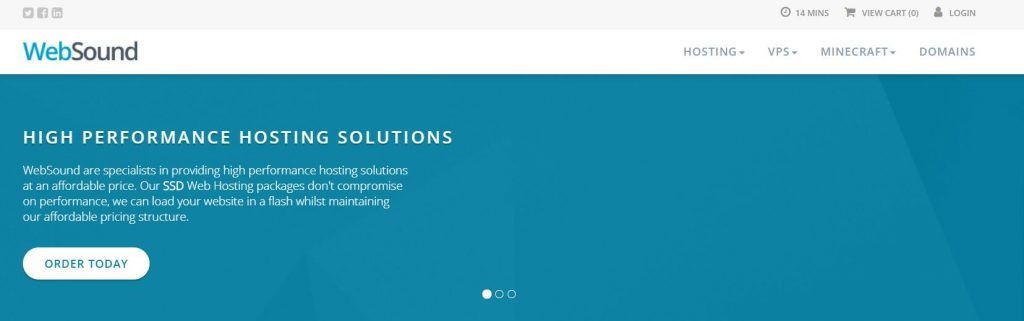 WebSound:美国洛杉矶£1.8/月VPS测评 windows可用