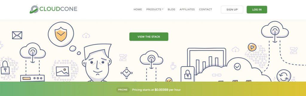 CloudCone注册教程,按小时计费,支持支付宝,1美元开始玩起!