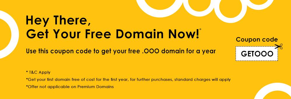 免费域名ooo申请及解析教程,可免费使用一年