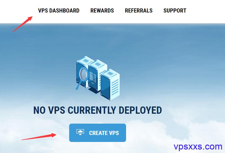 创建VPS