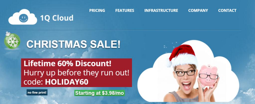 「1QCloud」春季特惠全场五折,美国盐湖城机房,XEN虚拟化,4.97美元/月起