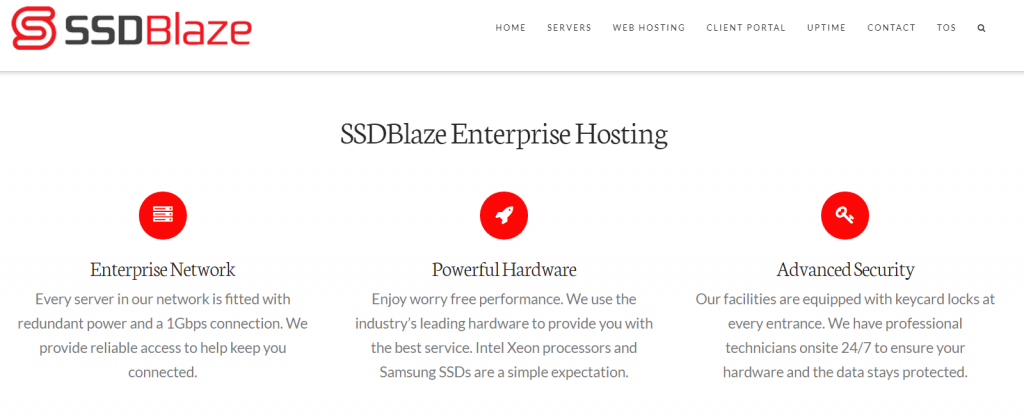 SSDBlaze纽约/达拉斯独立服务器首月优惠20美元,月付29美元起,1Gbps端口