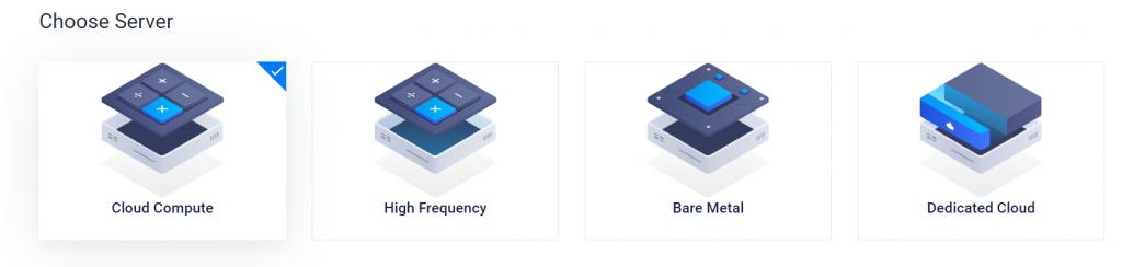 vultr的服务器类型有什么区别,分别对应什么?