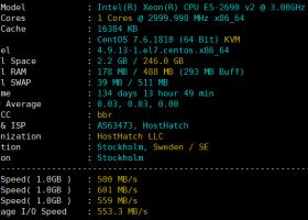 Hosthatch大硬盘VPS补货:伦敦/芝加哥/KVM架构,250G硬盘15美元/年,3TB硬盘84美元/年