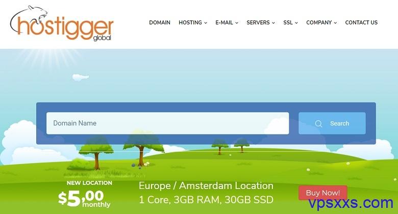 「Hostigger」美国堪萨斯VPS:VMware虚拟化,可选windows2008/2012,4.99美元/月起