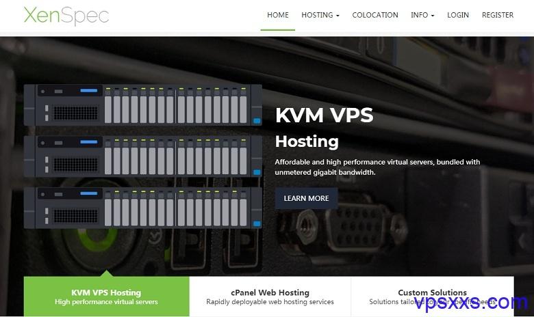 「XenSpec」芝加哥独立服务器25美元/月起,L5630/8G内存/240G SSD/5TB流量/2个IP/IPMI