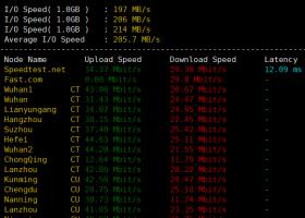 LOCVPS德国VPS评测:三网速度快且稳定,CN2 GIA线路,电信联通往返CN2,移动去程直连回程CN2