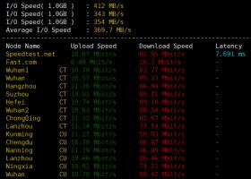 [标准互联]襄阳高防VPS测评:内存硬盘大,三网延迟低速度稳定,丢包率低
