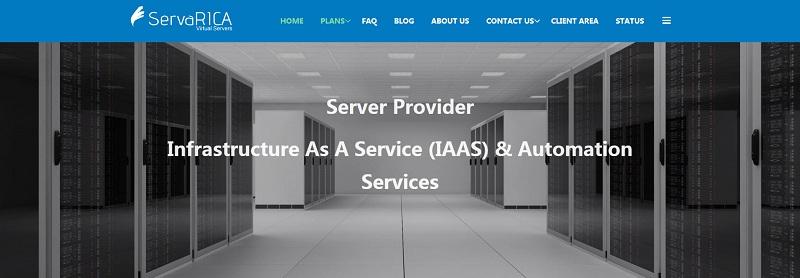 servarica加拿大VPS:支持支付宝/专用CPU/大硬盘/无限流量/原生IP/支持torrent