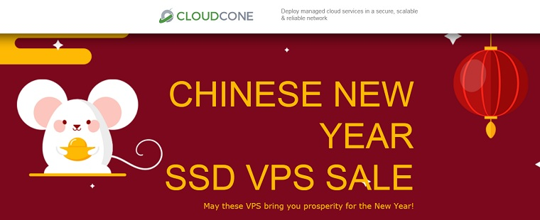 cloudcone鼠年促销活动