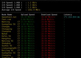 HostKVM圣何塞VPS测评:延迟超低,三网直连,电信CN2 GIA,联通CN2,速度稳定适合建站