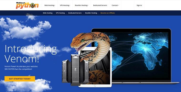 Webhostpython达拉斯托管服务器:12核CPU/12G内存/500GB SSD/无限流量/2个ipv4/40GB DDOS防御/54.5美元/月