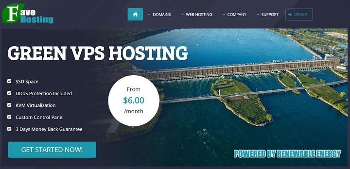 FaveHosting加拿大高防VPS:1核500M/15GB SSD/1TB月流量/1Gbps/KVM/6美元/月,OVH加拿大蒙特利尔机房