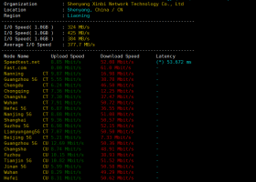 edgenat韩国VPS测评:电信CN2 GIA线路,联通韩国KT直连延迟超低,独享CPU,8G大内存适合建站