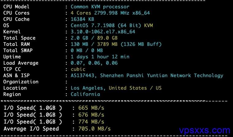 XXMhost硬件测试