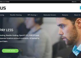 老牌美国商家「HostUS」上新AMD NVMe KVM VPS,20美元/年,另有16美元/年OpenVZ 7套餐,支持支付宝