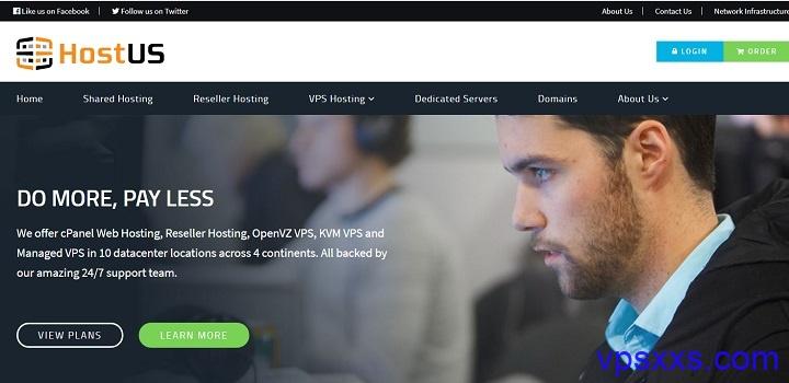 HostUS上线新加坡VPS年付24美元起,支持支付宝,香港1Gbps端口VPS季付11.95美元,另有美国洛杉矶/达拉斯/华盛顿/英国/荷兰机房KVM VPS