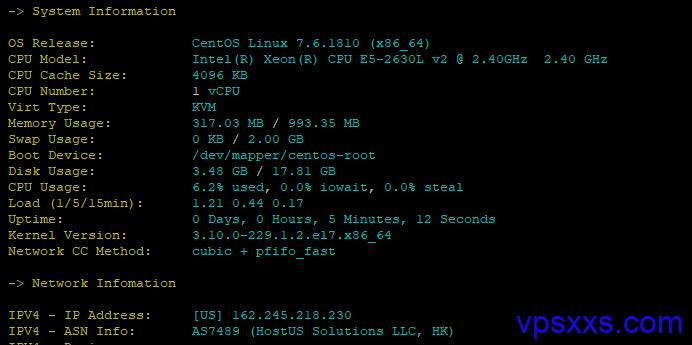 光蔚互联美国洛杉矶北美原生IP基本信息IO速度等