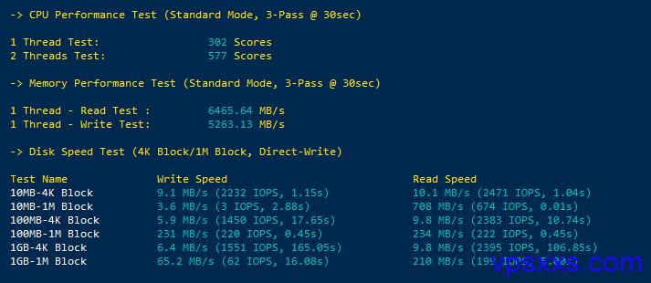 CPU负载测试及读写测试
