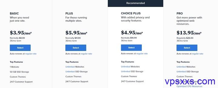 老牌商家Bluehost黑五:虚拟主机4折促销,无限流量,无限空间,无限网站,独立IP,建站推荐