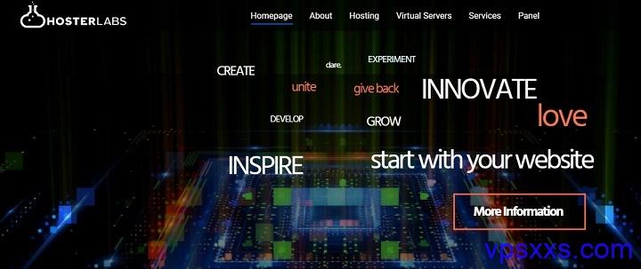 Hosterlabs:美国虚拟主机0.6美元/月,加拿大VPS 0.7美元/月,德国AMD VPS 2.4美元/月,加密货币支付优惠更大