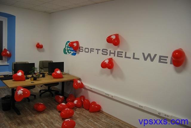 SoftShellWeb情人节:美国圣何塞/荷兰VPS,25美元/年起,支持支付宝