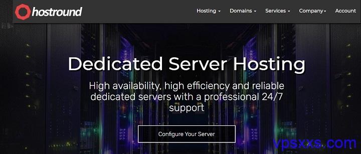 HostRound:美国CN2 GIA独立服务器100TB流量139.99美元/月,洛杉矶/纽约/达拉斯机房