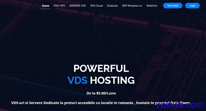 iHostART罗马尼亚抗投诉大硬盘VPS:2核4G/240GB SSD/2TB月流量/100Mbps/19.99美元/年